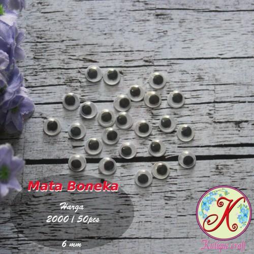 Foto Produk Mata Boneka / Mata Kocak 6mm dari Kutique Craft