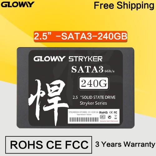 Foto Produk Gloway SSD STRYKER Series 240GB dari Lezz Computech
