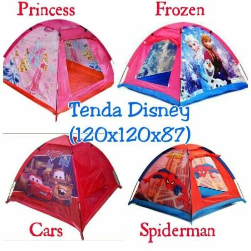 Foto Produk Mainan tenda Anak murah kemping karakter kartun dari yongzen shop
