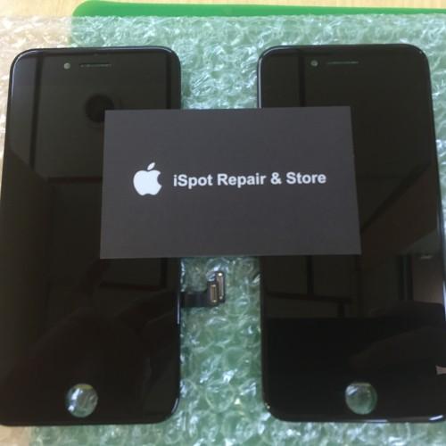 Foto Produk LCD iphone 7 Black & White Brand New Original - Putih dari iSpot Indonesia