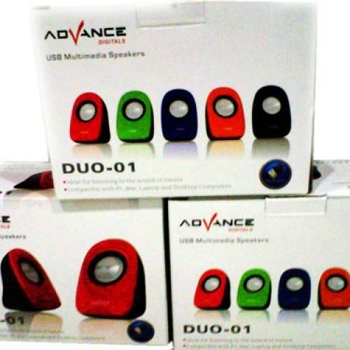 Foto Produk Advance DUO-01 USB Multimedia Speaker dari Nusa Computerindo