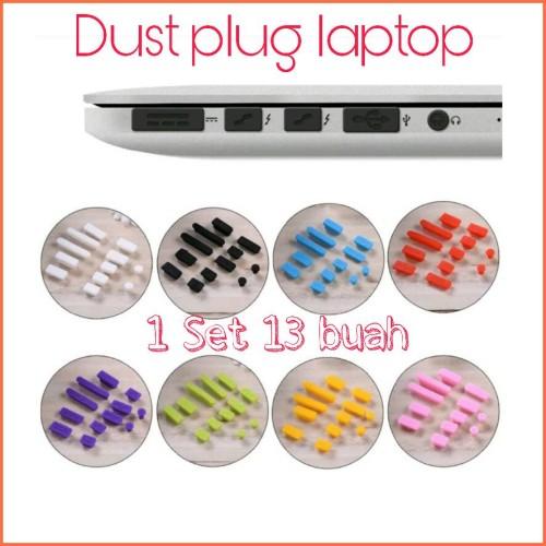 Foto Produk Dust Plug Laptop Universal / Penutup Debu - Hitam dari Grace-Computer