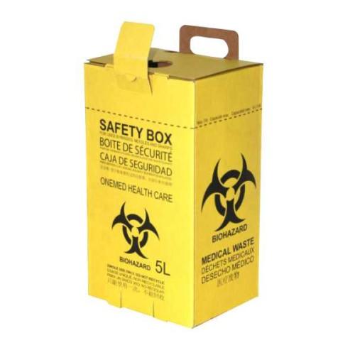 Foto Produk Safety Box 5L Kuning OneMed dari Onemed-Dental