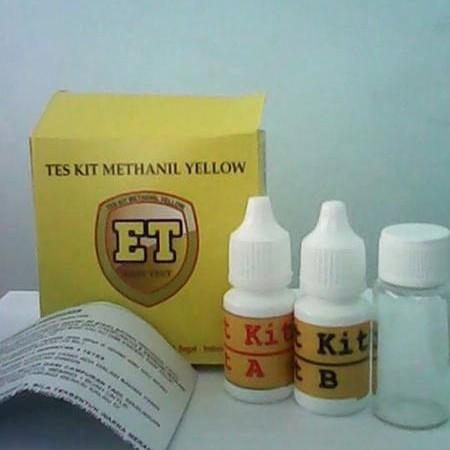 Foto Produk Test Kit Metanil Yellow   Uji Cepat Keamanan Pangan Pewarna Sintetik dari easytest