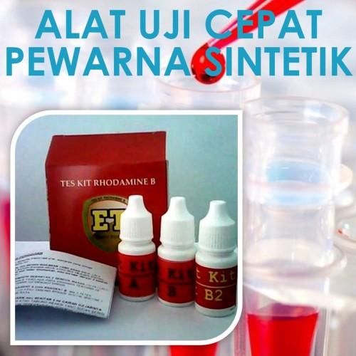 Foto Produk Test Kit Rhodamin B | Tes Rodamin B | Uji Cepat Food Safety Murah dari Sooper Shop