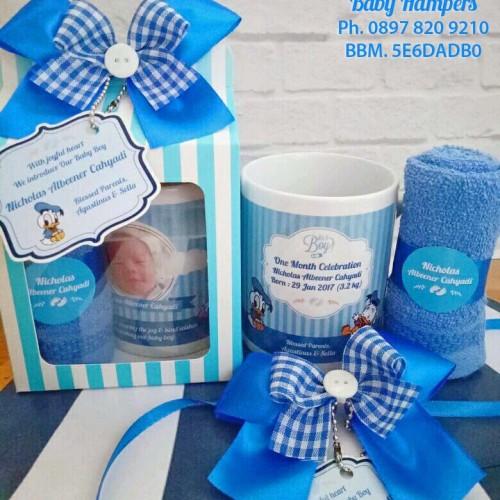 Foto Produk Gift Souvenir One Month Celebration - Baby Boy dari Keranjang Bunda