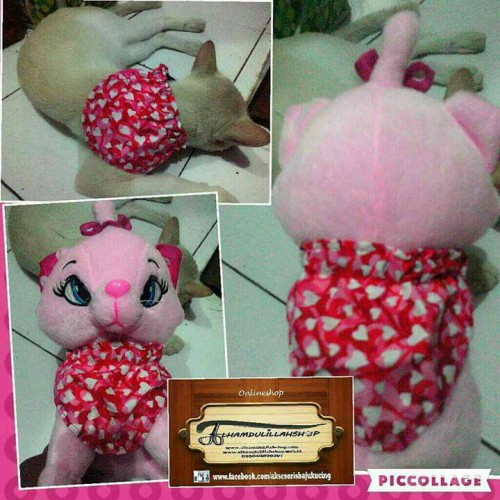 Foto Produk slayer pink love untuk kucing dari alhamdulillahshop