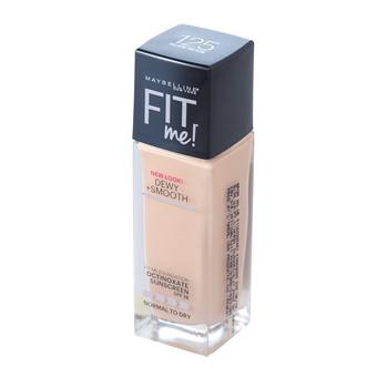 Foto Produk Maybelline Fit Me Dewy + Smooth Foundation - 125 Nude Beige dari NanShop