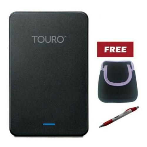 Foto Produk Hitachi Touro 500GB - Hitam Free Pouch & Pen dari Commuter Jkt Shop