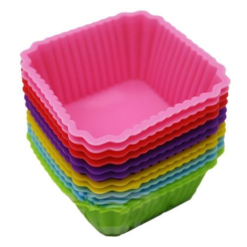 Foto Produk SALE ! Cetakan Puding / Kue / Coklat Silicone Bentuk Kotak / Box dari gamaneca20