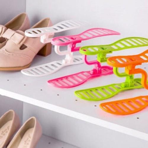 Foto Produk SALE ! Rak Sepatu Susun Portable Shoes Rack murah berkualitas dari gamaneca20