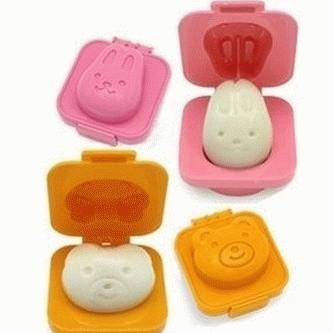 Foto Produk SALE ! Cetakan Telur / Egg Mold (Bear & Rabbit) murah berkualitas dari gamaneca20