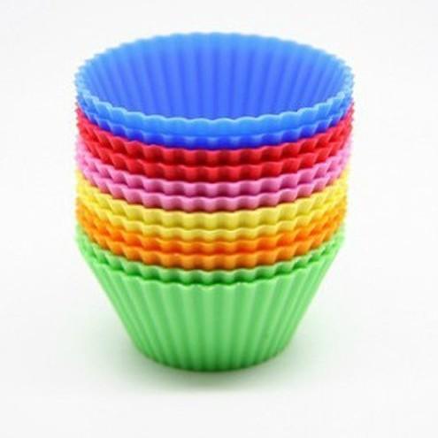 Foto Produk SALE ! Cetakan Puding / Kue / Coklat Silicone Bentuk Bulat murah dari gamaneca20