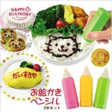 Foto Produk SALE ! Food Drawing Pen Penghias Makanan (isi 3) murah berkualitas dari gamaneca20