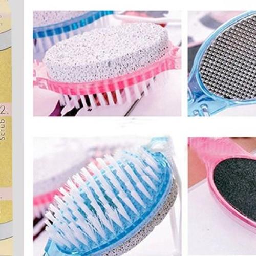 Foto Produk SALE ! 4 Step Pedicure Paddle Brush Perawatan Kaki murah berkualitas dari gamaneca20
