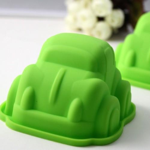 Foto Produk SALE ! Cetakan Puding / Kue / Coklat Silicone Bentuk Mobil / Car dari gamaneca20