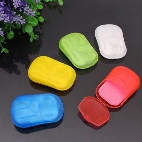Foto Produk SALE ! Sabun Kertas Praktis / Travelling Paper Soap murah dari gamaneca20