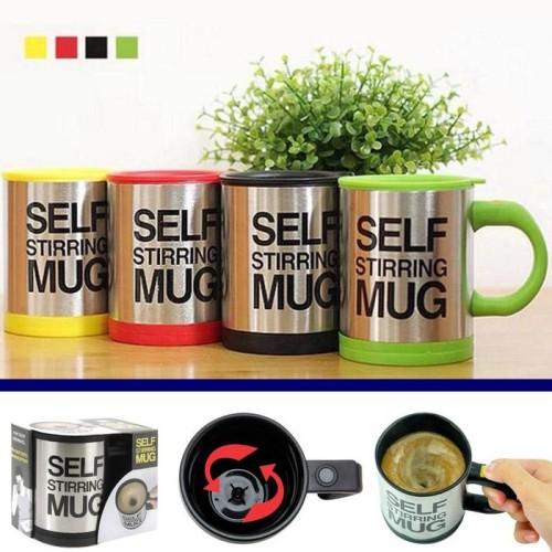 Foto Produk SALE ! Gelas Aduk Otomatis Self Stirring Mug murah berkualitas dari gamaneca20