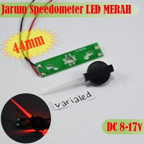 Foto Produk Jarum Panel Speedometer LED MERAH 12V 44mm Indiglow Retrofit RPM Fuel dari variaLED