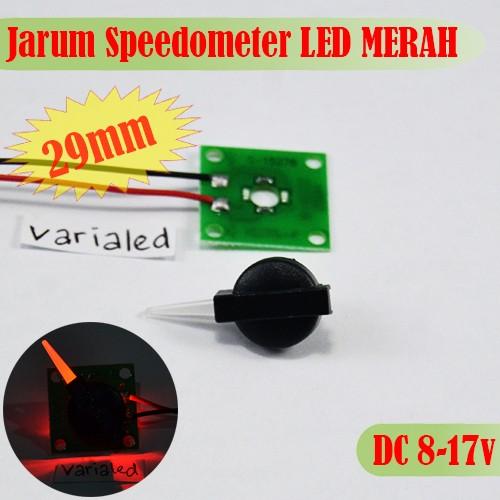 Foto Produk Jarum Panel Speedometer LED RED 12V 29mm Indiglow Retrofit RPM Bensin dari variaLED