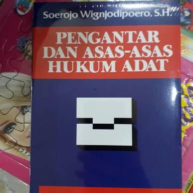 Foto Produk pengantar dan asas - asas hukum adat dari rheny book store