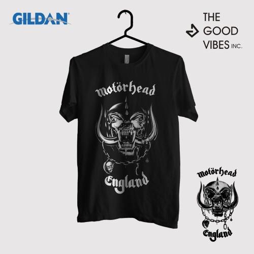 Foto Produk Kaos Band Motorhead Original Gildan - Logo dari Good Vibes Inc