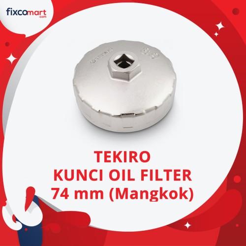 Foto Produk Tekiro Kunci Oil Filter Mangkok 74 mm (BMW, VW, Audi, Opel, Innova) dari FIXCOMART