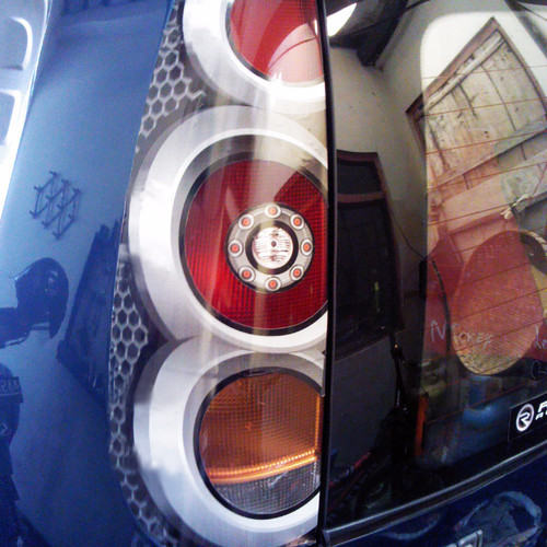 Foto Produk PROMO Sticker vinyl lamp 3D hyundai atoz Hemat dari Garage Kece # 27
