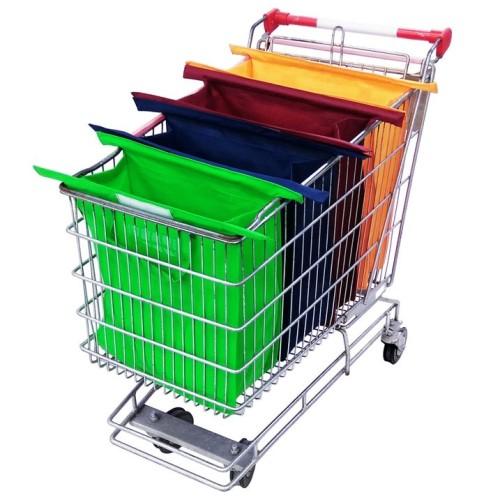 Foto Produk Trolley Shopping Bag 4pcs / Tas Belanja Kualitas Premium Murah dari ALEXA Onstore