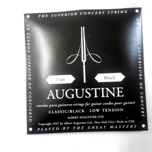 Foto Produk Senar Gitar Nylon Albert Augustine Black Ori Regular/Light Tension dari CBM Music & Sound Store