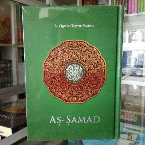 Foto Produk Alquran As-samad, Al-quran Mushaf dengan Tajwid Warna ukuran A5 - Hijau dari ALIDA