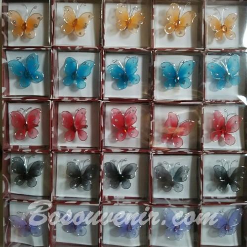 Foto Produk Souvenir Bros KUPU-KUPU warna kecil dari Souvenir Pernikahan 2