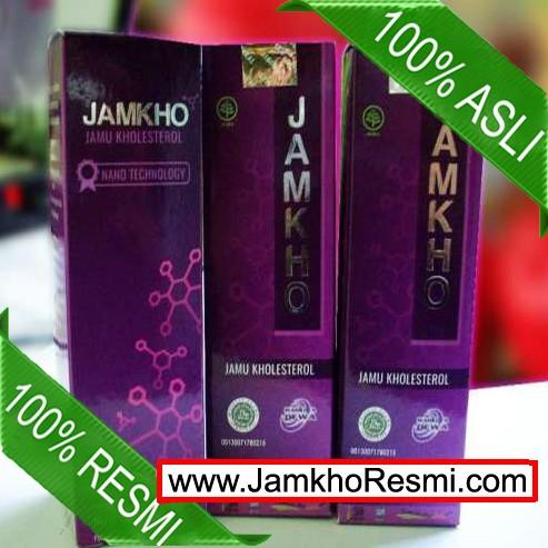 Foto Produk JAMKHO Jamu Kolesterol - Obat Kolesterol Alami 100% Asli BPOM & Halal dari KING SUPLEMEN