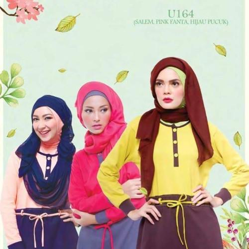 Foto Produk Baju/Kaos/Atasan Ukhti U 164 dari MuslimahSyariCollection