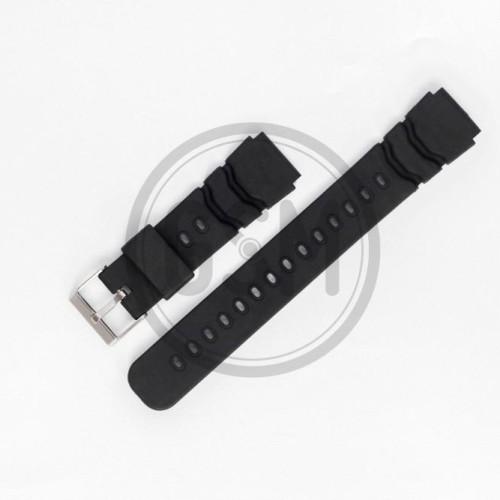 Foto Produk Tali Karet (Silicon Strap) 00858 - Seiko 18MM, 20MM, 22MM dari Gudang Batere dan strap