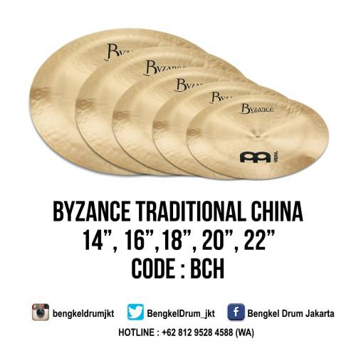 "Foto Produk Meinl Cymbal Byzance Traditional China 14"" dari Bengkel Drum Jakarta"