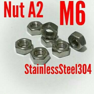 Foto Produk Mur M6 Stainless304 A2 dari MekanikAutomation