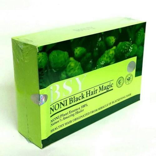 Foto Produk BSY Noni Black Hair Magic Shampoo 1 DUS/1BOX FREE Sarung dari TOKO BIAN'S