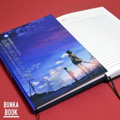 Foto Produk Note Book Anime 5cm (Purple) Hardcover (Kertas Bergaris) dari Bunka Book
