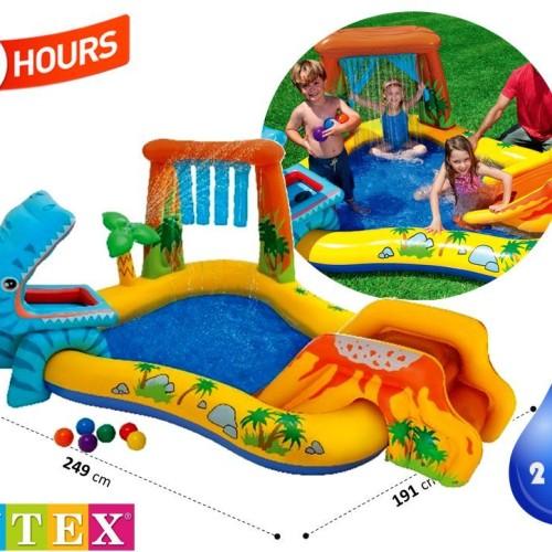 Foto Produk Kolam Renang Anak Dinosaur Kids Play Center Swimming Pool INTEX 57444 dari INTEX ONLINE