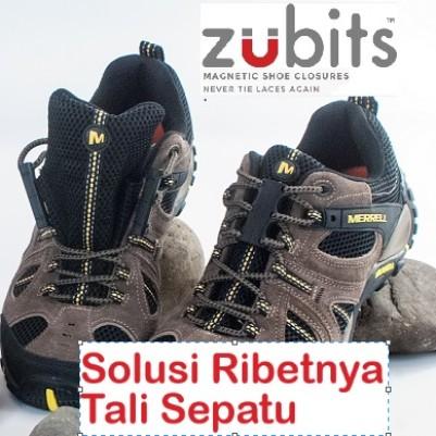 Foto Produk Zubits Magnet Hi Tech Solusi Praktis Tali Sepatu Boots Sneakers USA dari Zubits Indonesia
