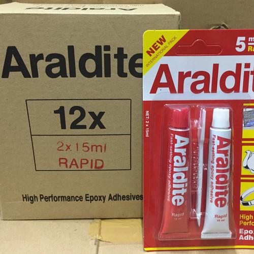 Foto Produk Araldite merah (30ml) dari Cahaya Mulia Kimia