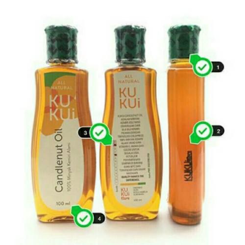 Foto Produk Minyak Kemiri KuKui (Candlenut Oil Hair Treatment) dari Klinik-DSC