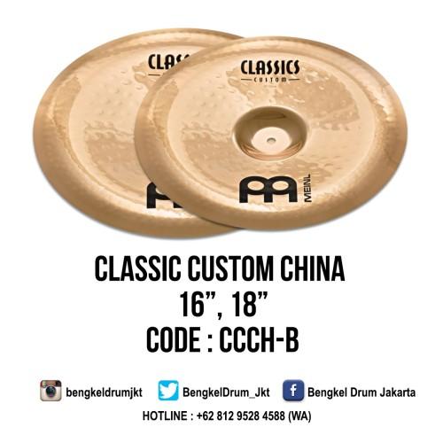 "Foto Produk Meinl Cymbal Classic Custom China 16"" dari Bengkel Drum Jakarta"