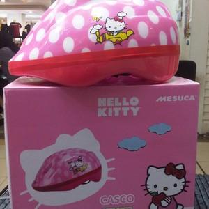 Foto Produk Helm Untuk Anak Motif Helo Kitty ORI bagian dalam ada lingkaran kepala dari Sarang Shop