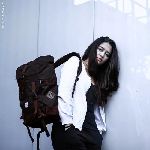 Foto Produk Tas Visval Metro Black Series / Tas Laptop Backpack dari BAGGEN