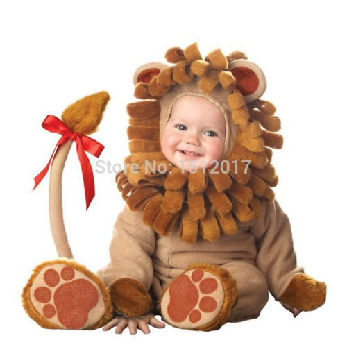 Foto Produk Baju Bayi & Anak Model Singa Lucu Usia 6 Bulan - 2 Tahun Murah Impor - 6-9 Bulan, Cokelat Muda dari LoPrize