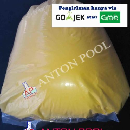 Foto Produk PAC Poly Aluminium Chloride China (1 kg) Gojek / Grab saja dari Anton Pool