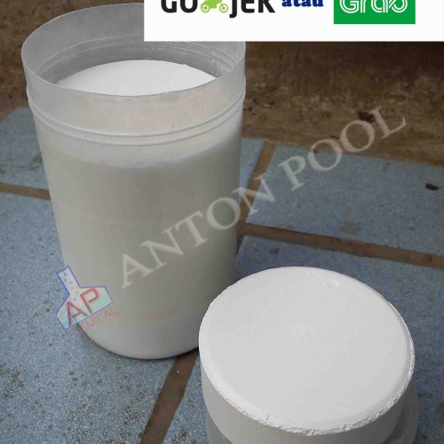 Foto Produk Kaporit Tablet 90% / Chlorine Tablet 90% (pack 1kg) Gojek / Grab only dari Anton Pool