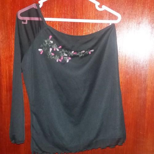 Foto Produk Atasan wanita preloved warna hitam size L dari Cin Cin Shop